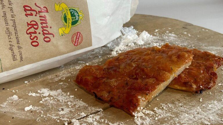 BASE PER PIZZA SENZA GLUTINE con FARINA e AMIDO DI RISO MELOTTI!